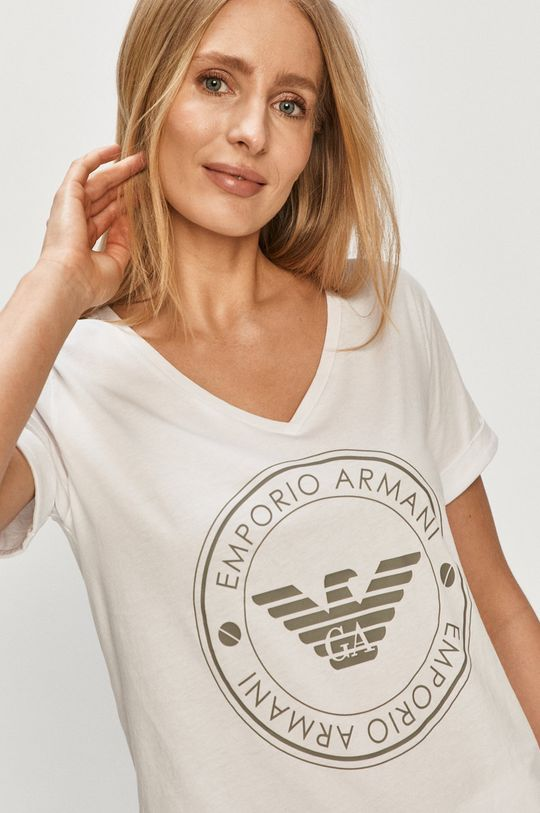 Emporio Armani - Pyžamo biela