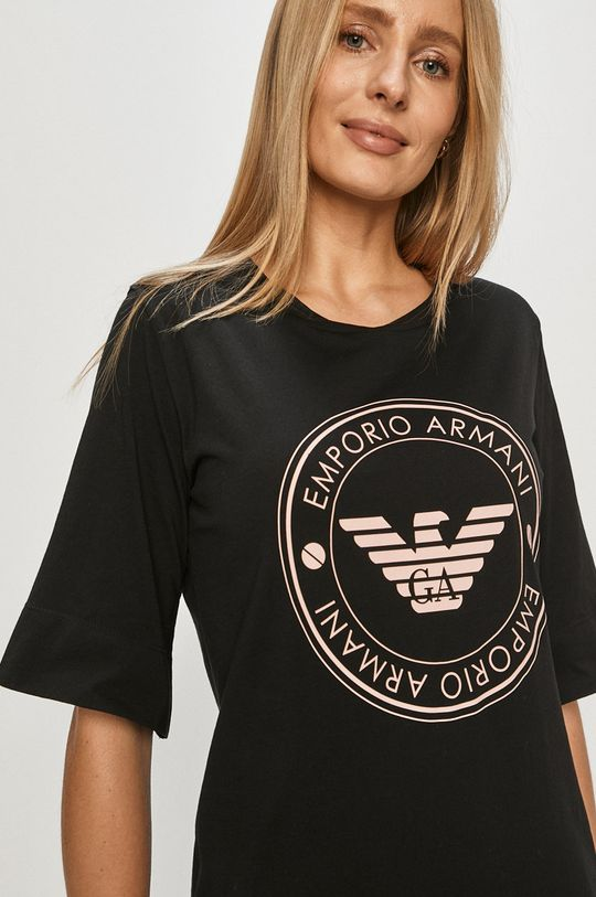 Emporio Armani - Koszula nocna czarny