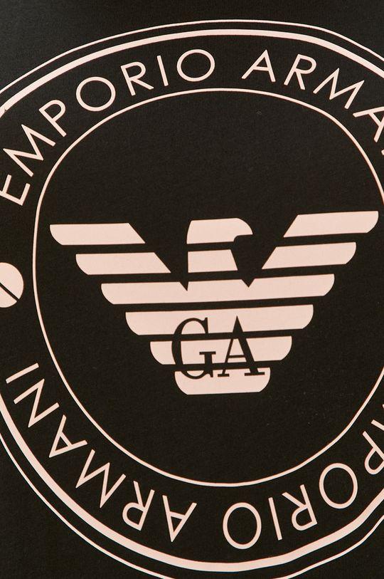 czarny Emporio Armani - Koszula nocna