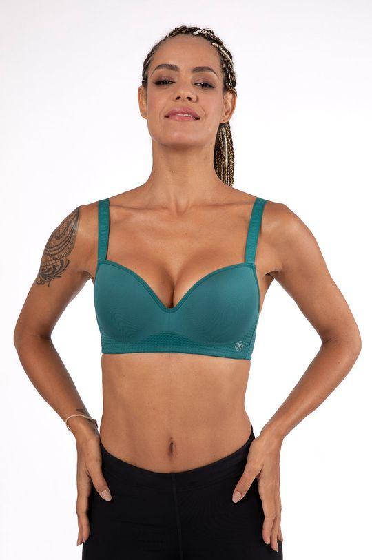 zielony Dorina - Biustonosz sportowy Memphis Damski
