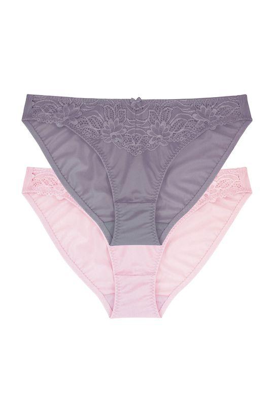 vícebarevná Dorina - Kalhotky Angie (2-pack)