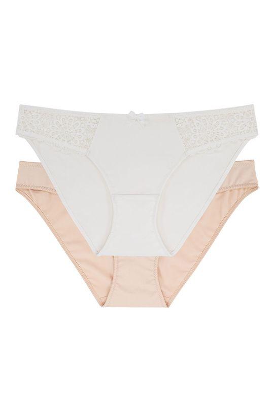 Dorina - Kalhotky Alba (2-pack)  Materiál č. 1: 13% Elastan, 15% Polyamid, 72% Polyester Materiál č. 2: 11% Elastan, 89% Polyester