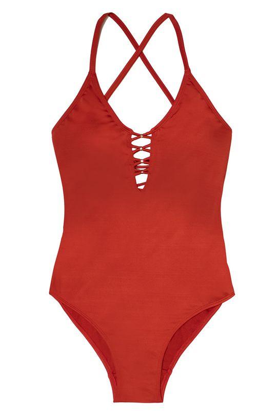 červená Dorina - Plavky