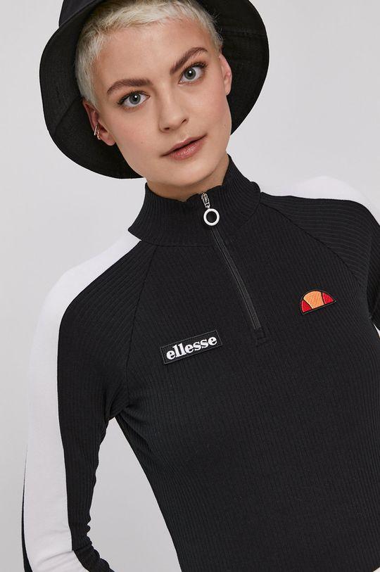 čierna Ellesse - Tričko s dlhým rukávom Dámsky
