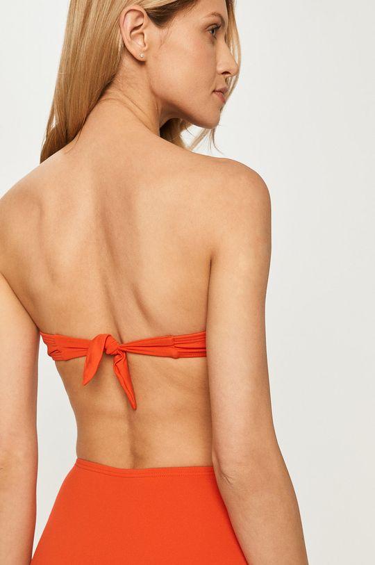 Kate Spade - Biustonosz kąpielowy pomarańczowy