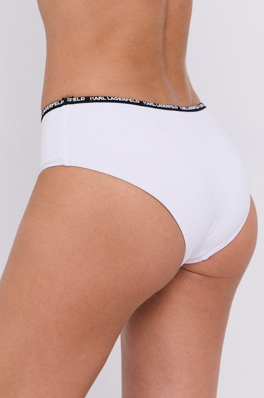 Karl Lagerfeld - Figi kąpielowe biały