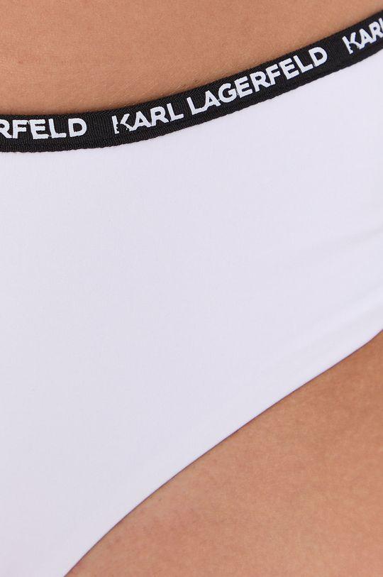 Karl Lagerfeld - Figi kąpielowe Podszewka: 16 % Elastan, 84 % Poliamid, Materiał zasadniczy: 82 % Poliamid, 18 % Elastan