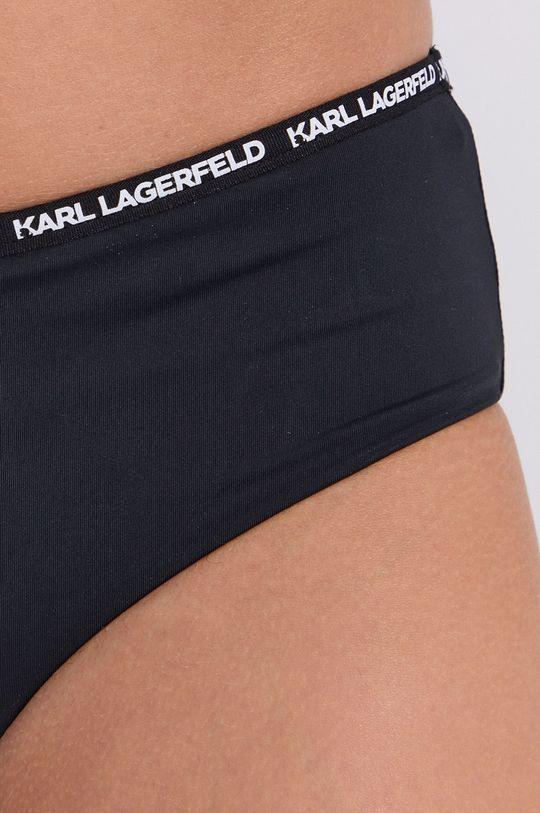 czarny Karl Lagerfeld - Figi kąpielowe