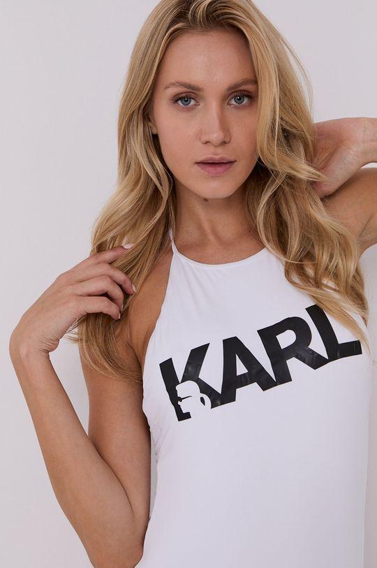 Karl Lagerfeld - Plavky  Podšívka: 16% Elastan, 84% Polyamid Hlavní materiál: 18% Elastan, 82% Polyamid