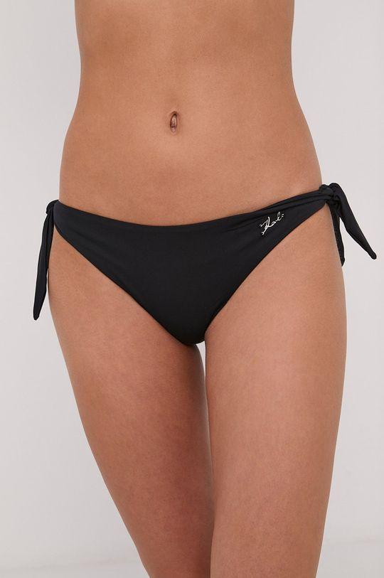 čierna Karl Lagerfeld - Plavkové nohavičky Dámsky