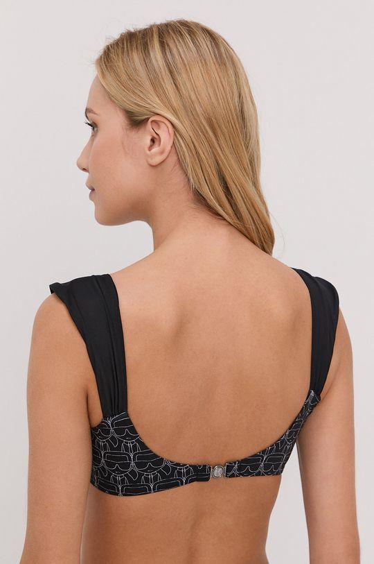 Karl Lagerfeld - Plavková podprsenka černá