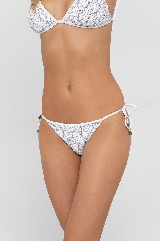 bílá Karl Lagerfeld - Plavkové kalhotky Dámský