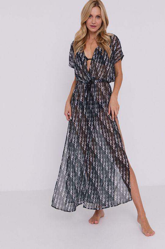 czarny Karl Lagerfeld - Sukienka plażowa Damski