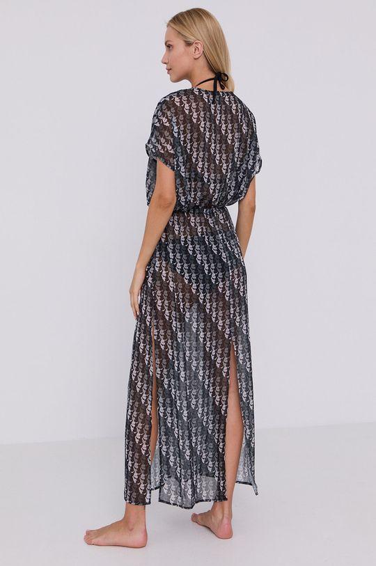 Karl Lagerfeld - Sukienka plażowa czarny