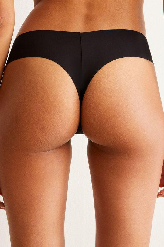 Undiz - Brazílske nohavičky CLINMICRIZ čierna