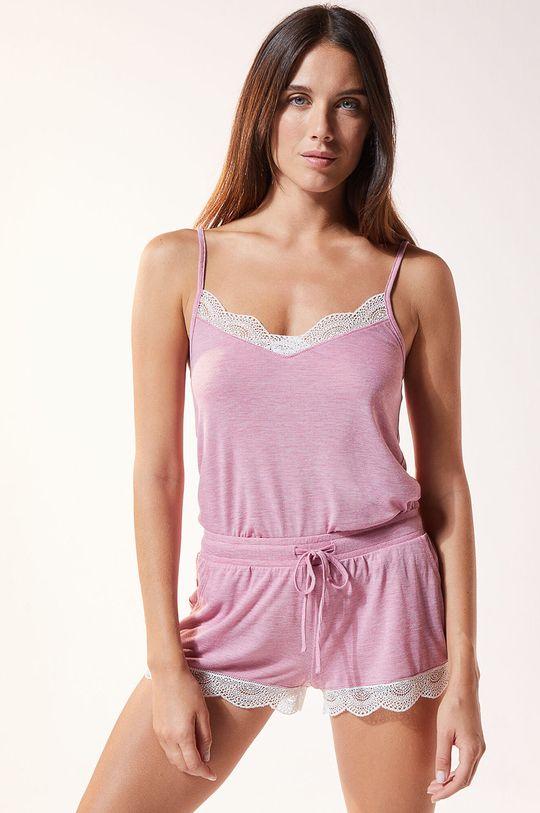 purpurowy Etam - Top piżamowy Warm Day