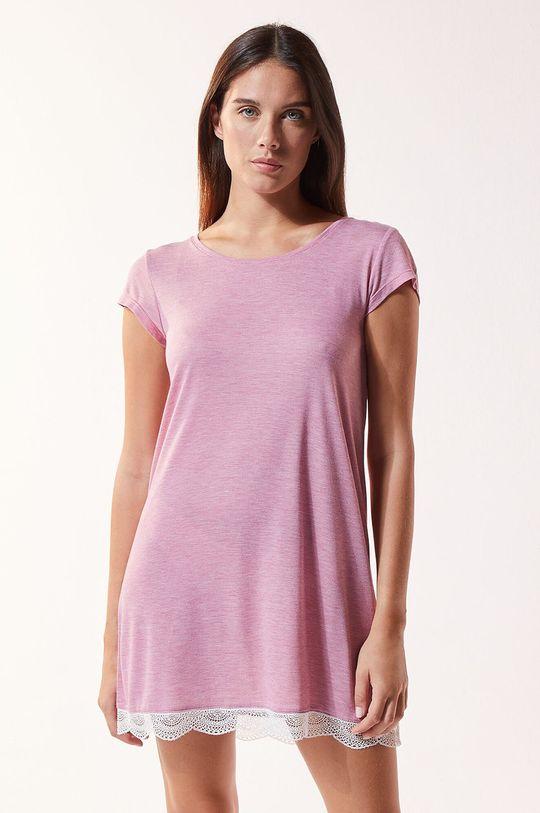 purpurowy Etam - Koszula nocna Warm Day Damski