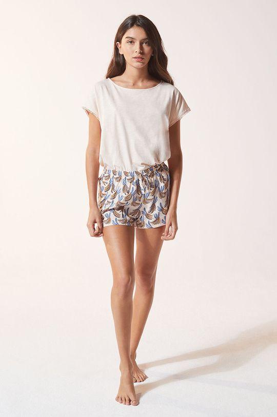 pastelová Etam - Pyžamové šortky Adelie