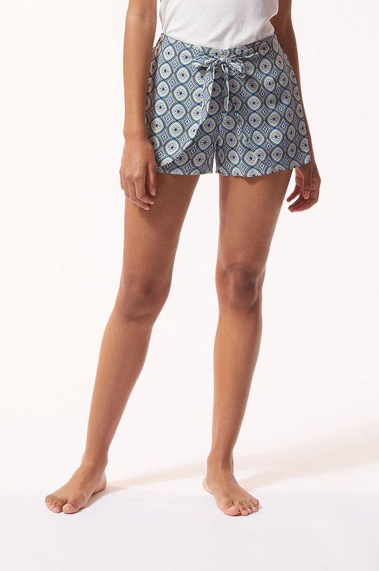 světle modrá Etam - Pyžamové šortky Anya Dámský