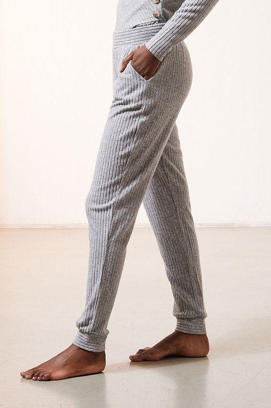 szary Etam - Spodnie piżamowe Darryl