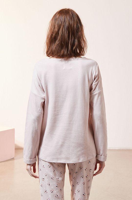 Etam - Longsleeve piżamowy Fino 100 % Bawełna