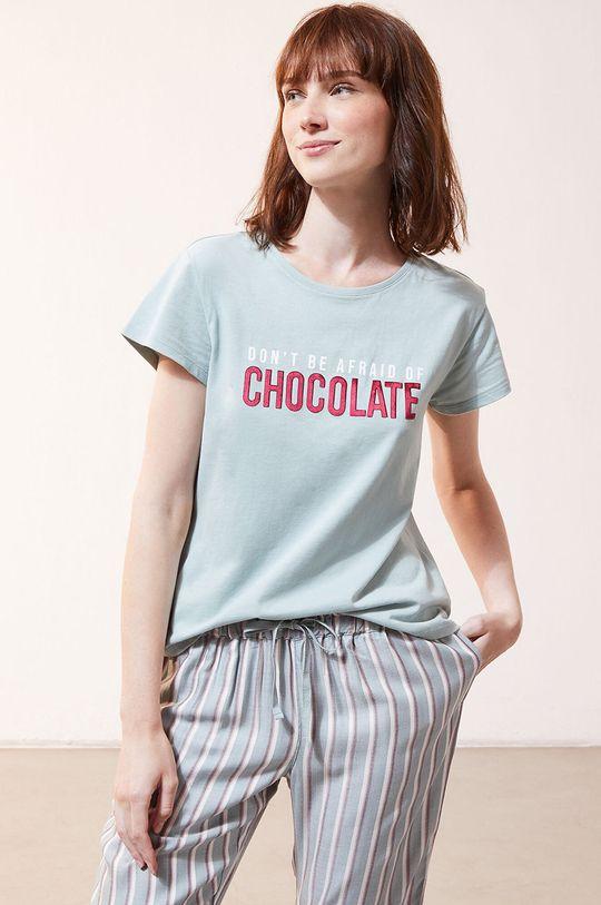 cyraneczka Etam - T-shirt piżamowy Foco Damski