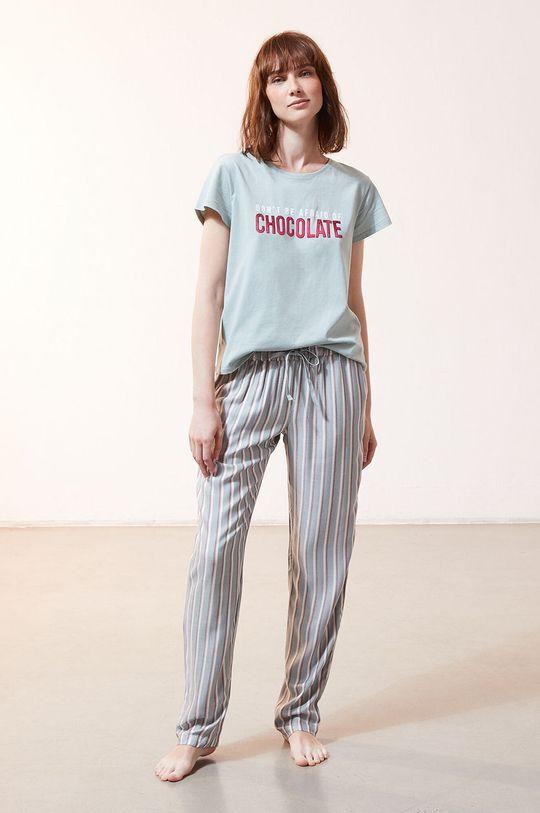 Etam - T-shirt piżamowy Foco cyraneczka