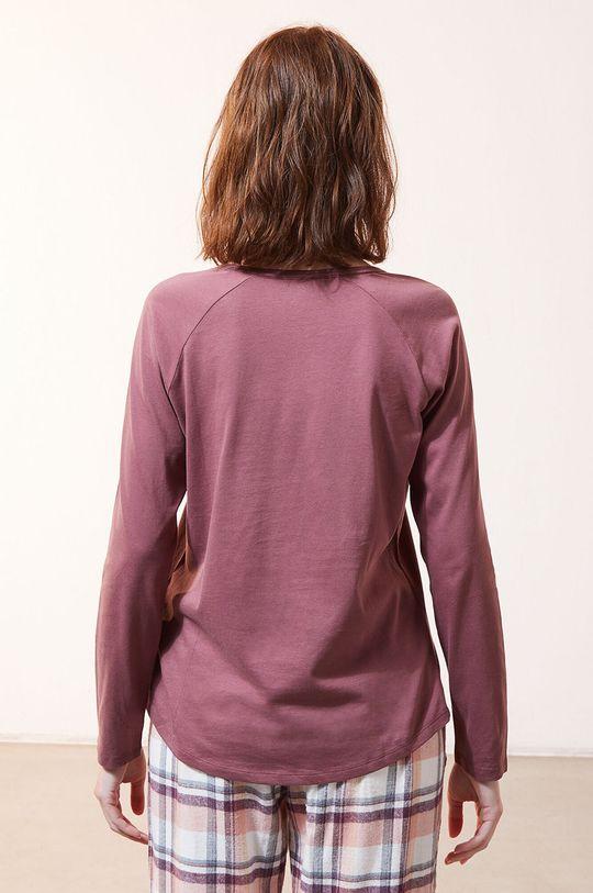 Etam - Pyžamové tričko s dlhým rukávom Fleur  100% Bavlna