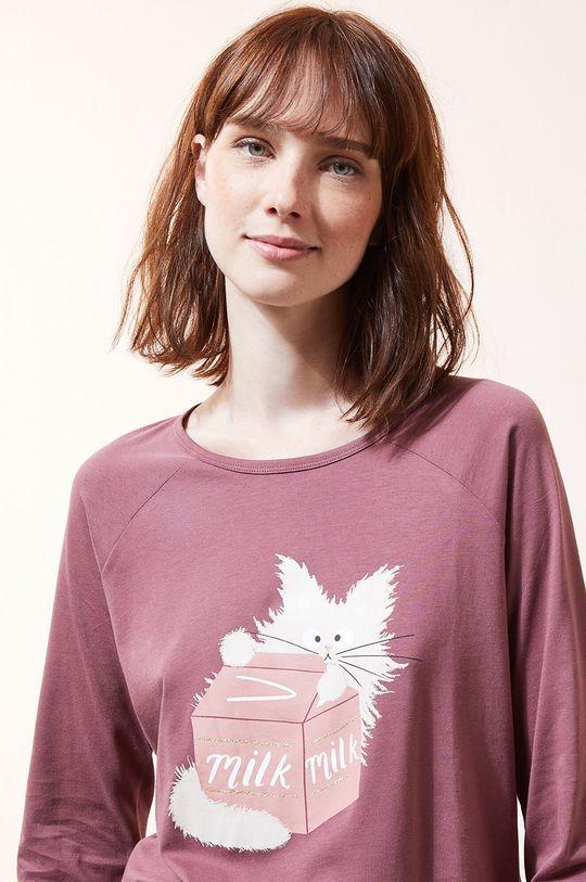 Etam - Pyžamové tričko s dlhým rukávom Fleur Dámsky