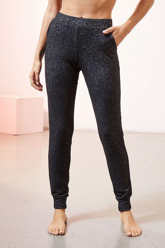 czarny Etam - Spodnie piżamowe LANCE Damski