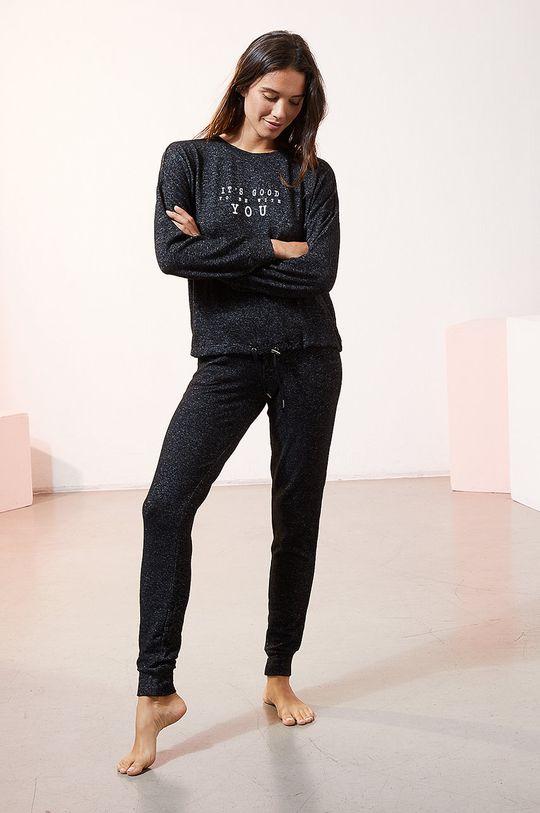 Etam - Spodnie piżamowe LANCE czarny