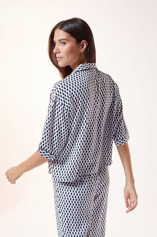 Etam - Koszula piżamowa Madden 100 % Wiskoza