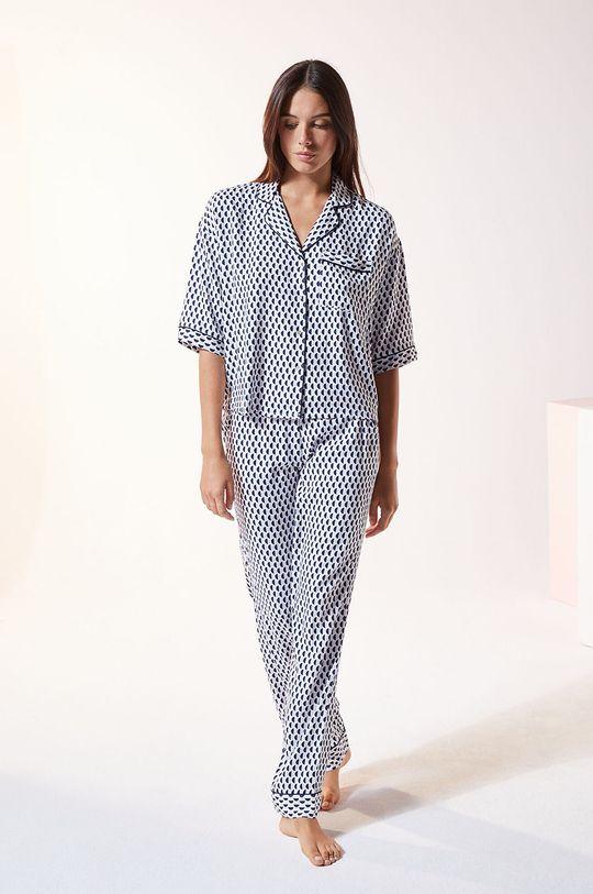 lawendowy Etam - Koszula piżamowa Madden