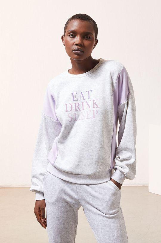 szary Etam - Bluza piżamowa LEITH Damski