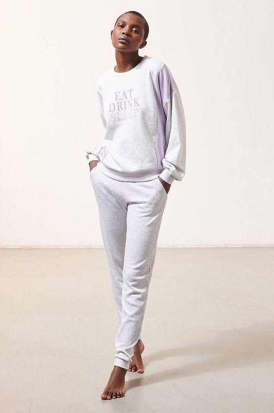 szary Etam - Bluza piżamowa LEITH