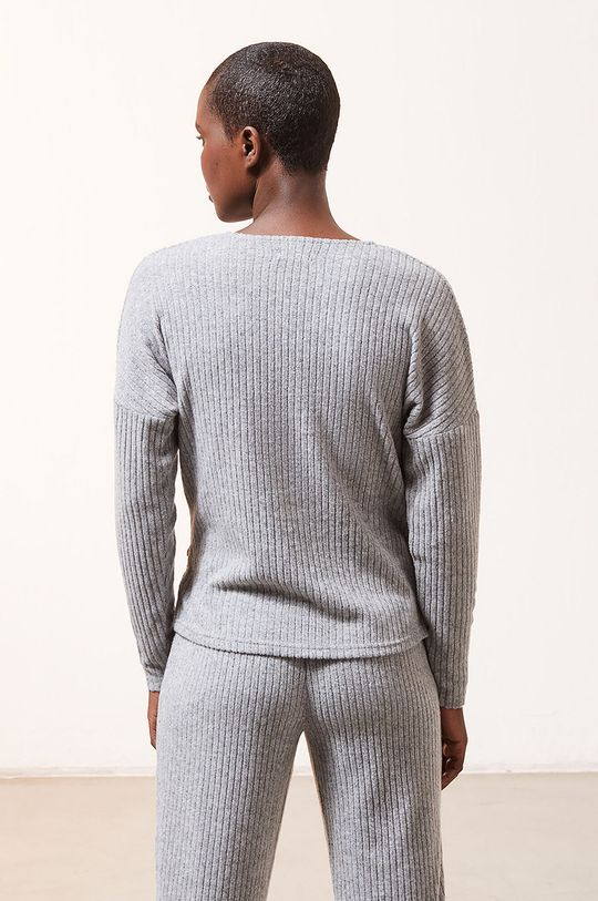 Etam - Longsleeve piżamowy LAURYL 4 % Elastan, 62 % Poliester, 34 % Wiskoza