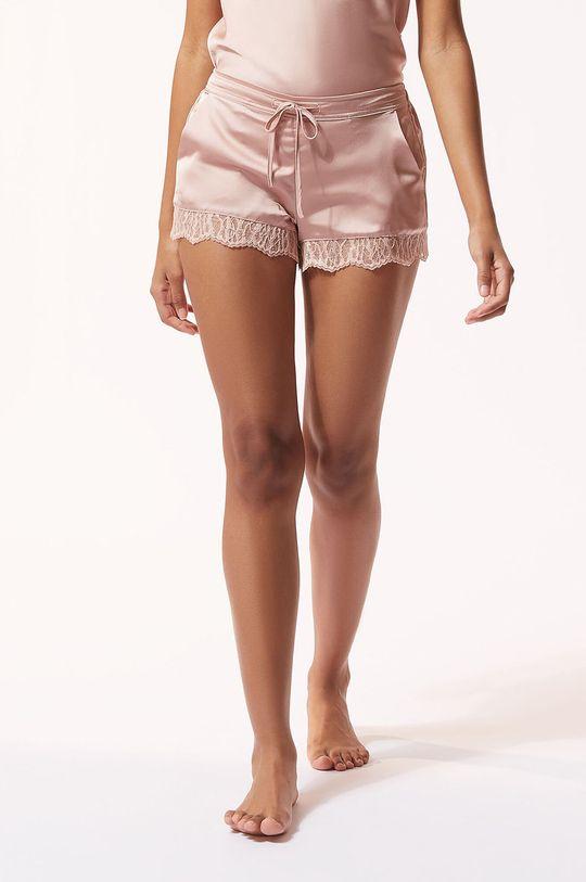 pastelowy różowy Etam - Szorty piżamowe BROOKLIN Damski