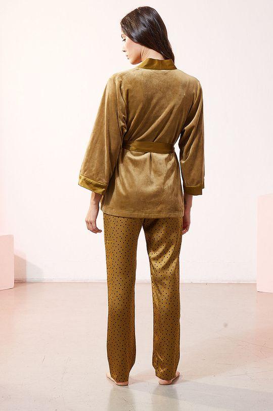 Etam - Sada 3dílného pyžama EDRIK  Materiál č. 1: 5% Elastan, 95% Polyester Materiál č. 2: 100% Polyester Materiál č. 3: 100% Polyester