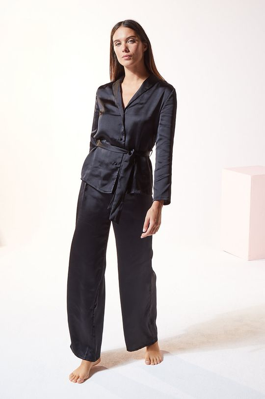 Etam - Koszula piżamowa ERINA czarny