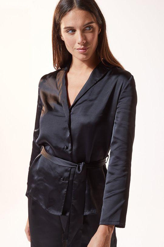 czarny Etam - Koszula piżamowa ERINA