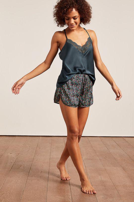 Etam - Top piżamowy ANEMONE cyraneczka