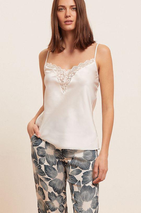 biały Etam - Top piżamowy TIARE Damski