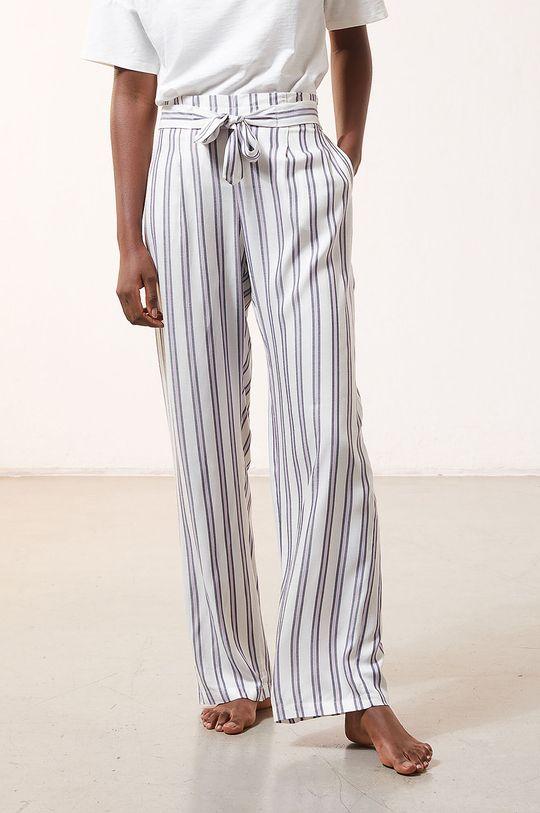 kremowy Etam - Spodnie piżamowe Micky Damski