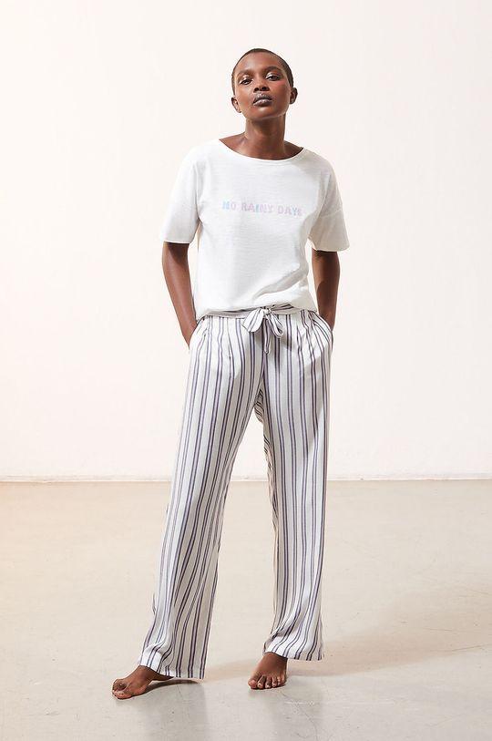 Etam - Spodnie piżamowe Micky kremowy