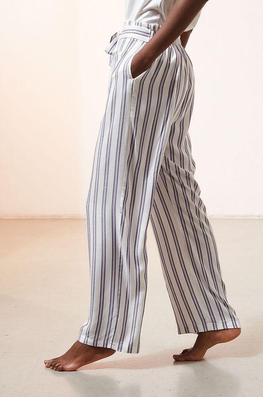 kremowy Etam - Spodnie piżamowe Micky