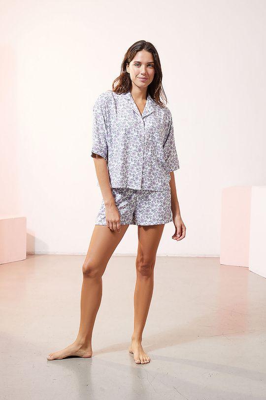 Etam - Szorty piżamowe Maddlyn lawendowy