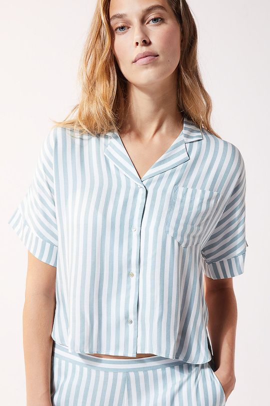 niebieski Etam - Koszula piżamowa JUDY Damski