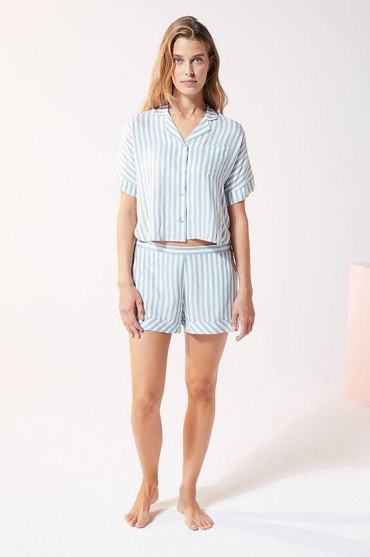Etam - Koszula piżamowa JUDY niebieski