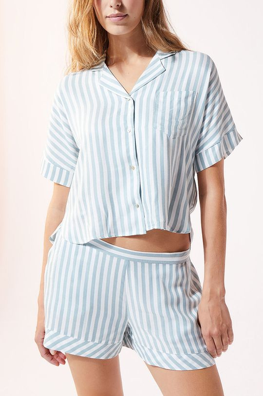 niebieski Etam - Koszula piżamowa JUDY