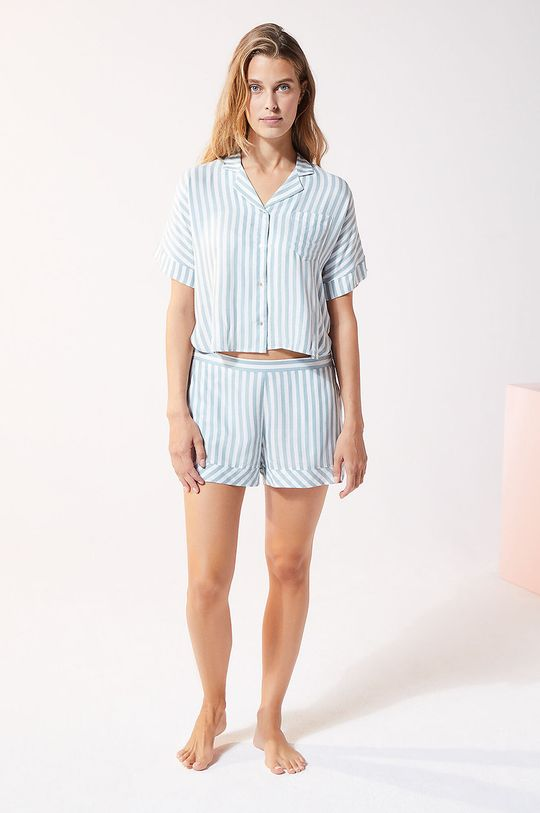 Etam - Szorty piżamowe JUDY niebieski